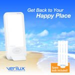 Verilux HappyLight Liberty 10K with Additional Bulb