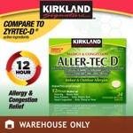 Image 0 of Kirkland Signature Aller-Tec D 12 Hour 24 Extended Release Tablets