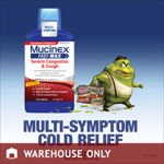 Mucinex FAST MAX Severe Congestion & Cough 18 Oz