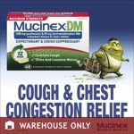 Image 0 of Mucinex Maximum Strength Chest Congestion Relief Dm 48 Tablets