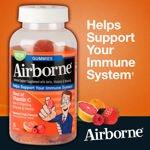 Image 0 of Airborne Immune Support Supplement 75 Gummies