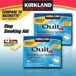 Image 0 of Kirkland Signature Quit4 4 Mg Gum 380 Pieces