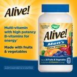 Image 0 of Alive Men's Multi-Vitamin 180 Tablets