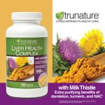Image 0 of Trunature Liver Health Complex 1000 Mg with Milk Thistle 180 Tablets