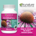 Trunature Echinacea 20:1 Extract 210 Mg 360 Softgels
