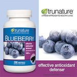 Trunature Blueberry Extract 1000 Mg 200 Softgels
