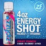 Zipfizz Fruit Punch Energy Shot 24 Bottles