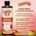 Barlean's CoQ10 Swirl with Fish Oil 24 Oz