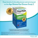 Bausch + Lomb PreserVision AREDS 2 Formula 180 Soft Gels