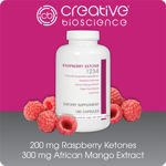 Creative Bio Science Raspberry Ketone 1234 180 Capsules