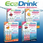 EcoDrink Complete Multivitamin Drink Mix 30 Packets