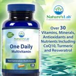 Nature's Lab One Daily Multivitamin 120 Vegetarian Capsules