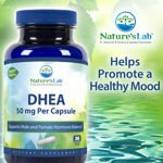 Nature's Lab DHEA 300 Vegetarian Capsules