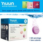 Nuun Active Hydration 63 Electrolyte Enhanced Drink Tablets