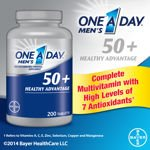 One A Day Men's 50+ Healthy Advantage 200 Tablets