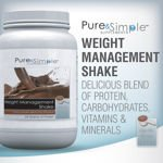 Image 0 of Pure & Simple Weight Management Shake 62.2 Oz