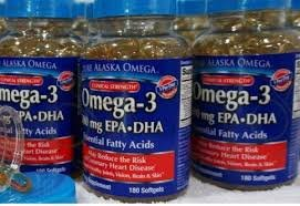 Image 2 of Pure Alaska Omega-3 Clinical Strength 500 Mg EPA+DHA 180 Softgels