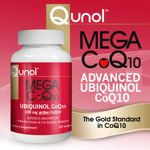 Image 0 of Qunol Mega CoQ10 100 Mg Ubiquinol 120 Softgels