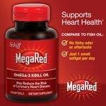 Image 0 of Schiff MegaRed 300 mg Omega-3 Krill Oil 110 Softgels