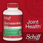Image 0 of Schiff Glucosamine Plus MSM 200 Tablets