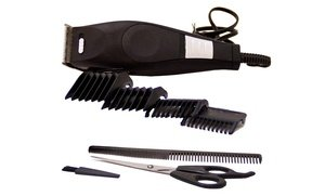 Vivitar Pro Clip 10-Piece Beard- and Hair-Trimming Kit