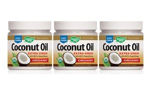 Image 0 of Nature's Way Coconut Oil 3x32 Oz