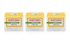 Burt's Bees Sensitive Night Cream 3x1.8 Oz