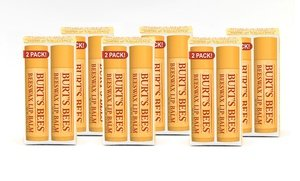 Burt's Bees Beeswax Lip Balm with Vitamin E and Peppermint 12x0.15 Oz