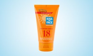 Kiss My Face SPF 18 Oat Protein Sunscreen 6x4 Oz