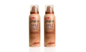 Jergens Natural Glow Foaming Body Lotion 2x5 Oz