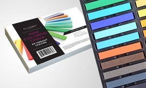 Ell?re Femme 24-Piece Hair Chalk Set