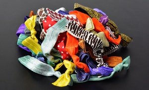 Crease-Free Hair Ties 50 Ct
