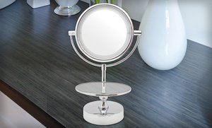 Image 2 of Chrome LED Mirror 1 Ct
