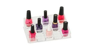 Image 2 of Compartment Nail Polish Organizer 15
