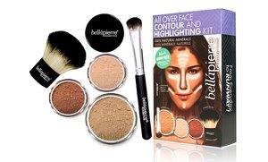 Bell?pierre Cosmetics Face-Contouring and Highlighting Mineral Makeup Kit