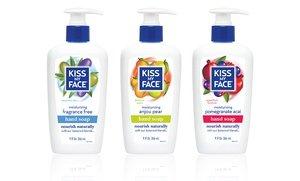 Kiss My Face Moisturizing Hand Soap 6x9 Oz
