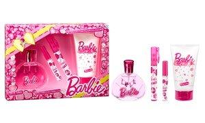 Barbie Kids' 4-Piece Fragrance and Lotion Set