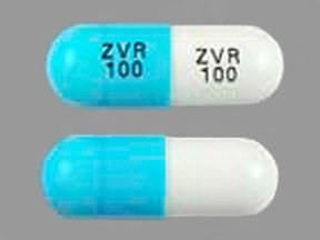 Zidovudine 100 Mg Caps 100 By Qualitest Products