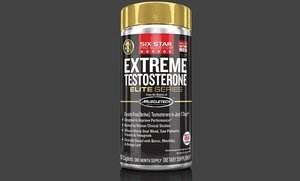 Six Star Black Extreme Testosterone Booster 60 Ct