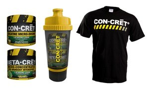 ProMera Power Stack Supplement Bundle with T-Shirt.