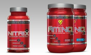 AMINOx and Nitrix 2.0 Dietary Supplement Bundle