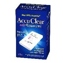Accu Clear Pregnancy Test 2 Ct