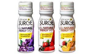 Body Glove Surge All Natural Energy Shots 12 Pk