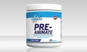 Chimera Pre-Animate Pre-Workout Supplement 20 Serving
