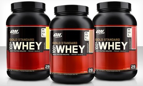 Image 0 of Optimum Nutrition Gold Standard Whey-Protein Tub 2 Lb