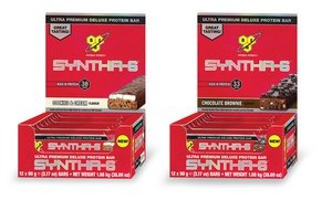 BSN Syntha-6 Protein Bars 12 Ct