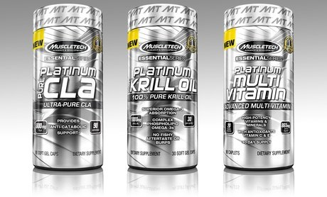 Image 0 of Muscletech Platinum Krill Oil with Options for CLA 800 Mg