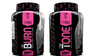 Image 0 of FitMiss Burn or Tone Supplements 90 Ct