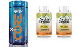 Image 0 of Xenadrine Core & Two Free Bottles of PureGenix Garcinia Weight-Loss Supplements