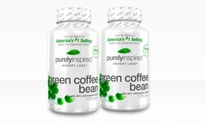 Image 2 of Purely Inspired Green Coffee Bean Weight-Loss Supplement Two-Pack